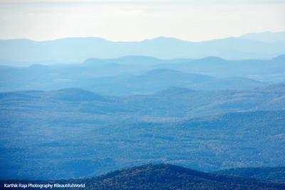 White Mountain folds, White Mountain National Forest, NH
