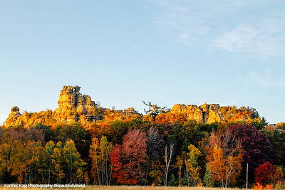 Mill Bluff State Park, Wisconsin
