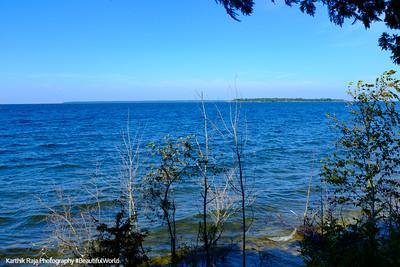 Lake Michigan, Door County, Wisconsin