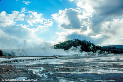 Midway Geyser Basin - Yellowstone National Par