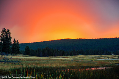 Sunrise - Yellowstone National Park