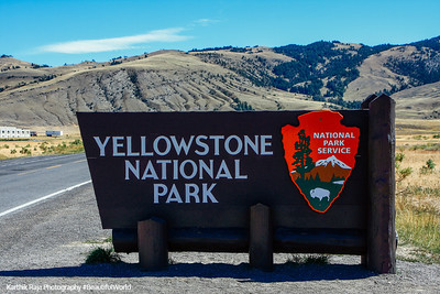 Yellowstone National Park, entrance