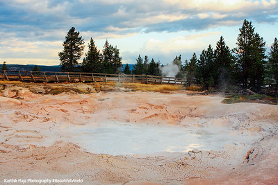 Mud Pot, Fountain Paint Pots, Lower Geyser Basin - Yellowstone National Park