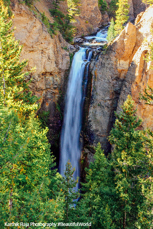 Tower fall (132 feet) - Yellowstone National Park