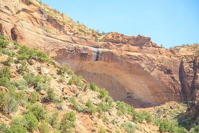 Arch, Zion National Park, Utah, Highway 9 - Zion Mt Carmel Highway