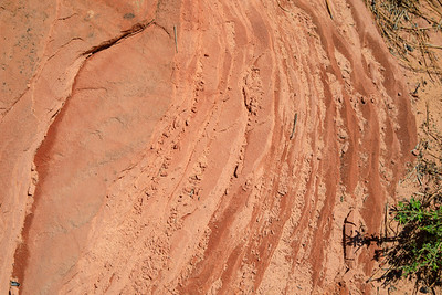Layers of stone, Zion National Park, Utah, Highway 9 from Mt.Carmel
