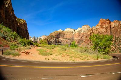 Zion National Park, Utah, Highway 9 - Zion Mt Carmel Highway