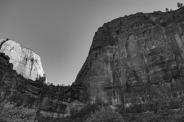 Canyons or Cathedrals? - The Organ at the front, Zion National Park, Utah