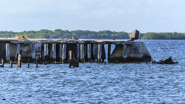 abandoned piers, harbour, Hafen von Caibarien