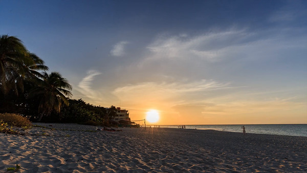 Timelapse on the Varadero beach, Cuba