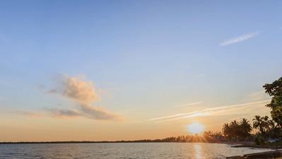 Timelapse of Sunset at Playa Larga, Cuba