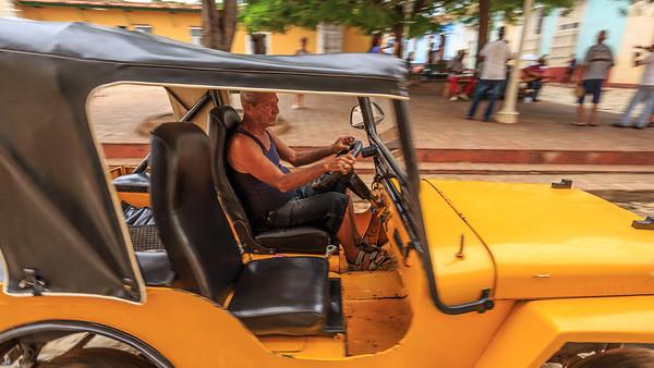 Jeep in Trinidad