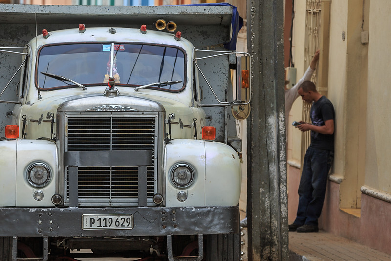 cars, street, Trinidad