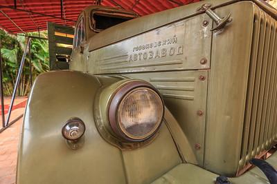 Russian truck in Museo Nacional de Lucha Contra Bandidos, Trinidad