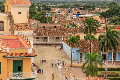 palaza mayor, Trinidad