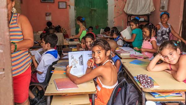school kids, Trinidad