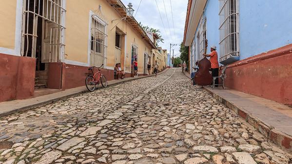 music, streets, people, Trinidad