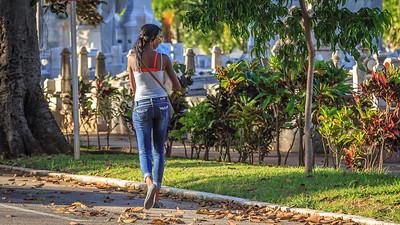 Cementerio Cristóbal Colón (Colon Cemetery; Necrópolis de Cristóbal Colón), tombs, people