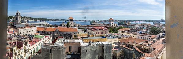 harbour, Hafen, Convento de San Francisco de Asis, Terminla de Ferris, Catedral Ortodoxa Nuestra Señora de Kazán, from above, Camara obscura at Plaza Vieja