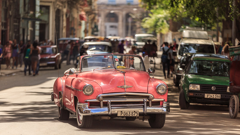 car, Habana Vieja, Chevrolet Deluxe Convertible 1952