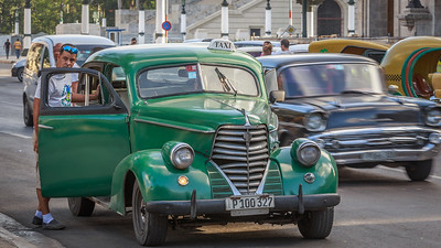 Oldsmobile F38 Sedan 1938, Habana Vieja