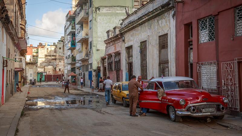 , people, galiano, Habana Vieja