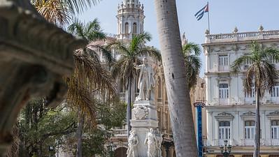 Habana Vieja, monument of José Martí