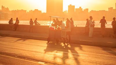 Malecón evening
