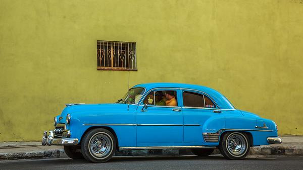 Chevrolet Deluxe 4 Door  1951 on the Malécon