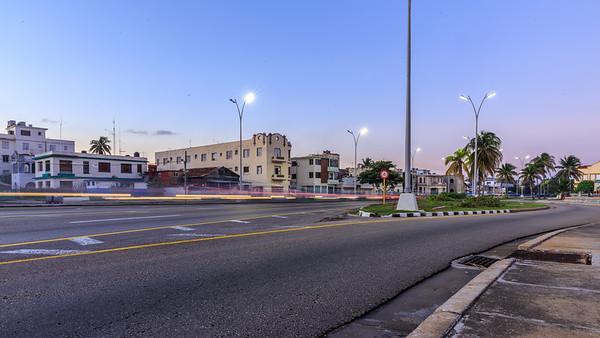 Malecón, sunrise