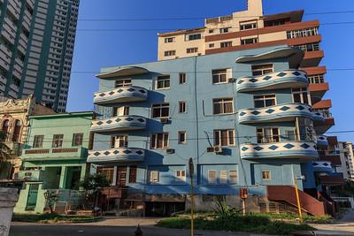 Habana Vieja, concrete architecture