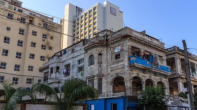 Habana Vieja, old villa