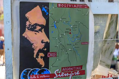Paseo del Prado/de Martí, Che Guevara