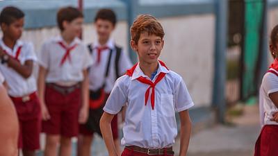 escuela primaria Juan A. Triana, School festivity