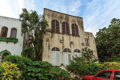 lots Art Nouveau style houses, Vedado, Havana