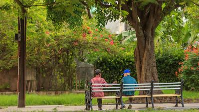 Vedado, Havana, people