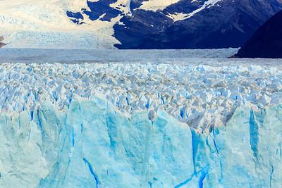 Front und Zuflussgebiet des Perito Moreno Gletschers