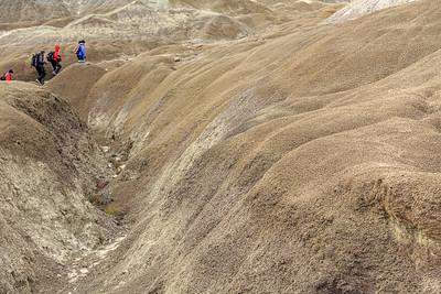 Mondlandschaft am Bosque Petrificado La Leona