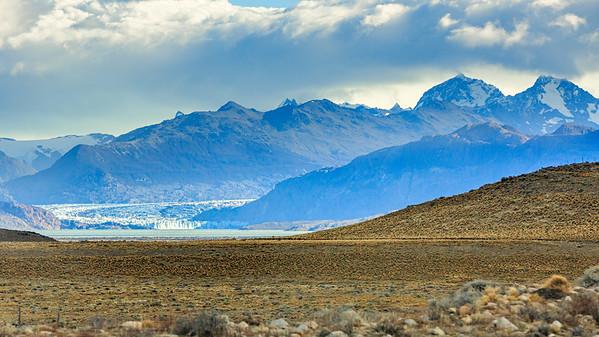 Der Viedma Gletscher im Los Glaciares national park