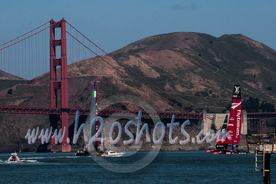 AC 72 Practice Session SF Bay