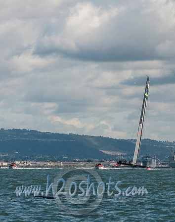 Oracle Racing and Artemis Racing