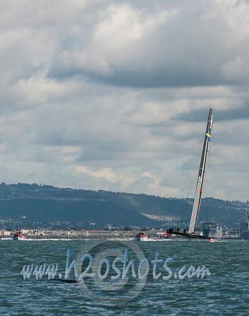 Oracle Racing and Artemis Racing