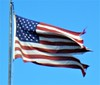 I cannot stand to see this. This flag was taken by me to the local American Legion Post for proper disposition.