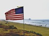 "The American flag flies proudly at Patriot Point in Huntington Beach. The flag was raised by Vietnam veteran Zach Martinez of Huntington Beach on Memorial Day 2010.<br /> Location - 33°40'08.6""N 118°01'09.6""W<br /> FB page - Patriot Point Huntington Beach"