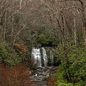 """Winter Waterfall"""