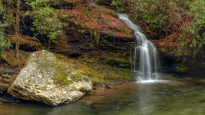 Smoky Mountains Waterfall