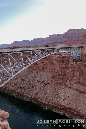 Navajo Bridge over Marble Canyon