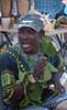 Garifuna drummer, Dangriga, Belize