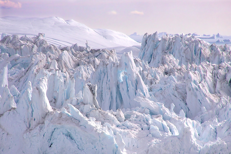 Crenellations, Ilulissat Icefjord