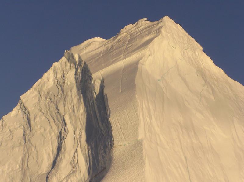 "Iceberg detail, ""night"""